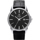 Royal London - Black Dial Men's Watch (Silver Case)